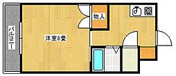 ハイツT・M・L[2階]の間取り