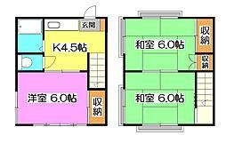 [テラスハウス] 東京都東村山市秋津町2丁目 の賃貸【/】の間取り