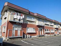 岡山県岡山市中区海吉の賃貸アパートの外観