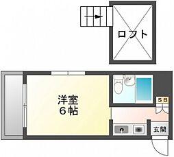 White草津[5階]の間取り
