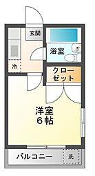 メゾンM10[3階]の間取り