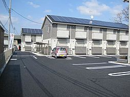 栃木県小山市大字雨ケ谷新田の賃貸アパートの外観