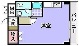 マスターズエル松ノ浜582[303号室]の間取り