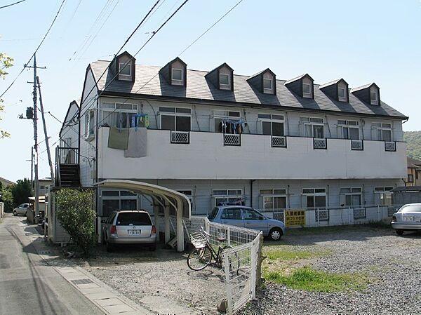 クオーレ北新B 2階の賃貸【山梨県 / 甲府市】
