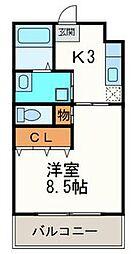 武重ビル[5階]の間取り