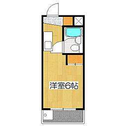 メゾンドパヴィヨン[4階]の間取り