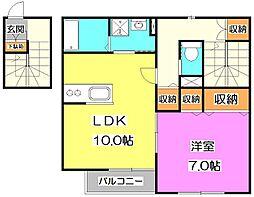 [テラスハウス] 東京都練馬区東大泉1丁目 の賃貸【/】の間取り