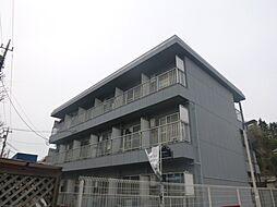 東京都八王子市鑓水の賃貸マンションの外観