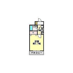 ホーユウコンフォルト京都田辺[302号室]の間取り