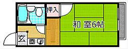 岡田ハイツ[2階]の間取り