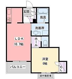 阪急神戸本線 夙川駅 徒歩5分の賃貸マンション 4階1LDKの間取り