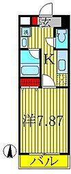 オアゾ桜台[508号室]の間取り