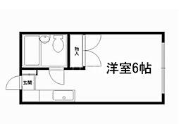 ユートリーハイツ[1階]の間取り