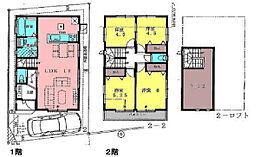 参考プラン建物価格1、300万円。
