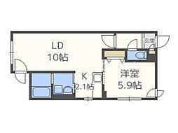 東屯田通駅 4.8万円