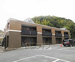 京都府京都市山科区西野山桜ノ馬場町の賃貸アパートの外観