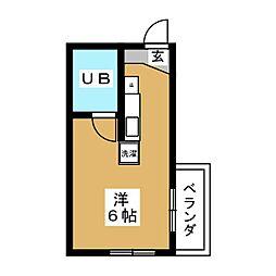 シティライフ八事II[2階]の間取り