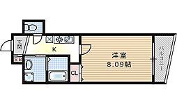 ジェイドコート酉島[3階]の間取り