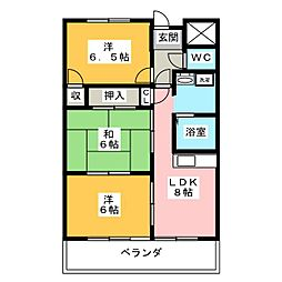 VIVRE21[3階]の間取り
