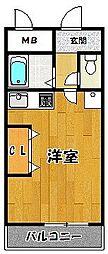 ジャルダン三田2番館[505号室]の間取り