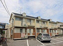 埼玉県さいたま市南区四谷2丁目の賃貸アパートの外観