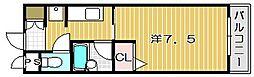 メゾン・ヴェルドゥール[3階]の間取り