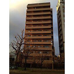 川端町パークハイツ[8階]の外観