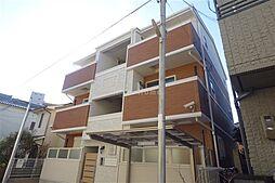兵庫県神戸市兵庫区東山町1丁目の賃貸アパートの外観