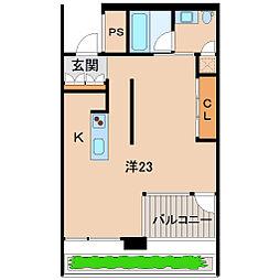 Wajima十番丁[7階]の間取り