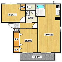 カンポMIZUKA[1階]の間取り
