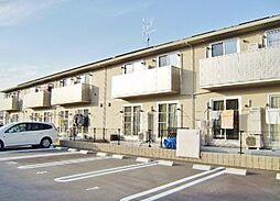 広島県東広島市八本松飯田 1丁目の賃貸アパートの外観