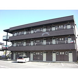 長野県佐久市新子田の賃貸マンションの外観