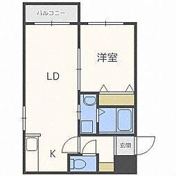 アバンセN42[4階]の間取り