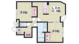 尾上の松駅 5.6万円