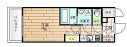 ファーストステージ梅田WEST[11階]の間取り
