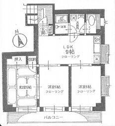 押田ビル[1階]の間取り