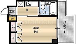 グリーンハイツ今津[3階]の間取り