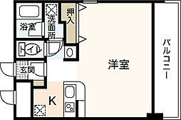 ヒルサイドこいとう坂[3階]の間取り
