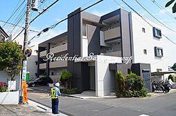 神奈川県藤沢市鵠沼石上3丁目の賃貸マンションの外観