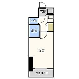セレッソコート西心斎橋II[2階]の間取り