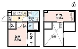 ALLURE 358(アリュール)[2階]の間取り