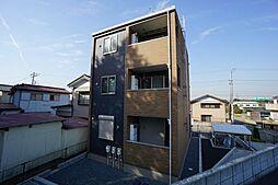 千葉県市原市根田3丁目の賃貸アパートの外観