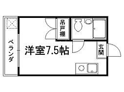 クラインハウス[3階]の間取り