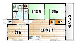 吉田ビル[2階]の間取り