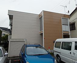 長野県松本市中央4丁目の賃貸アパートの外観