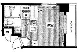 トーシンフェニックス八丁堀[3階]の間取り