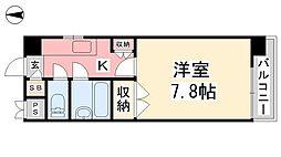 ジョイフル第1朝生田[108号室]の間取り