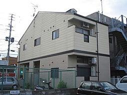 福岡県福岡市中央区笹丘1丁目の賃貸アパートの外観