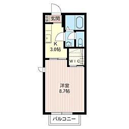 ハイツ サンフラワー[2階]の間取り