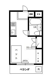 第3エコーマンション[4階]の間取り